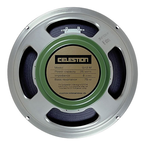 Gitarrenlautsprecher Celestion G12M Greenback - 8 Ohm
