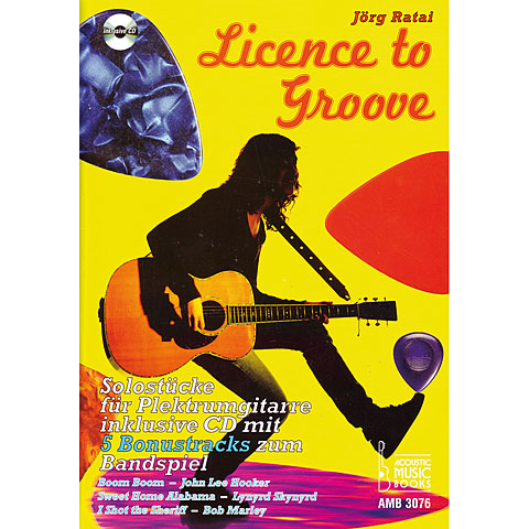 Libro de partituras Acoustic Music Books Licence to Groove