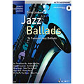 Libro de partituras Schott Saxophone Lounge - Jazz Ballads