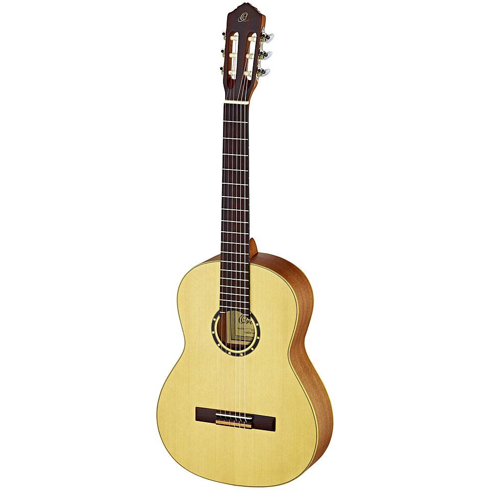 Konzertgitarren - Ortega R121L Konzertgitarre Lefthand - Onlineshop Musik Produktiv