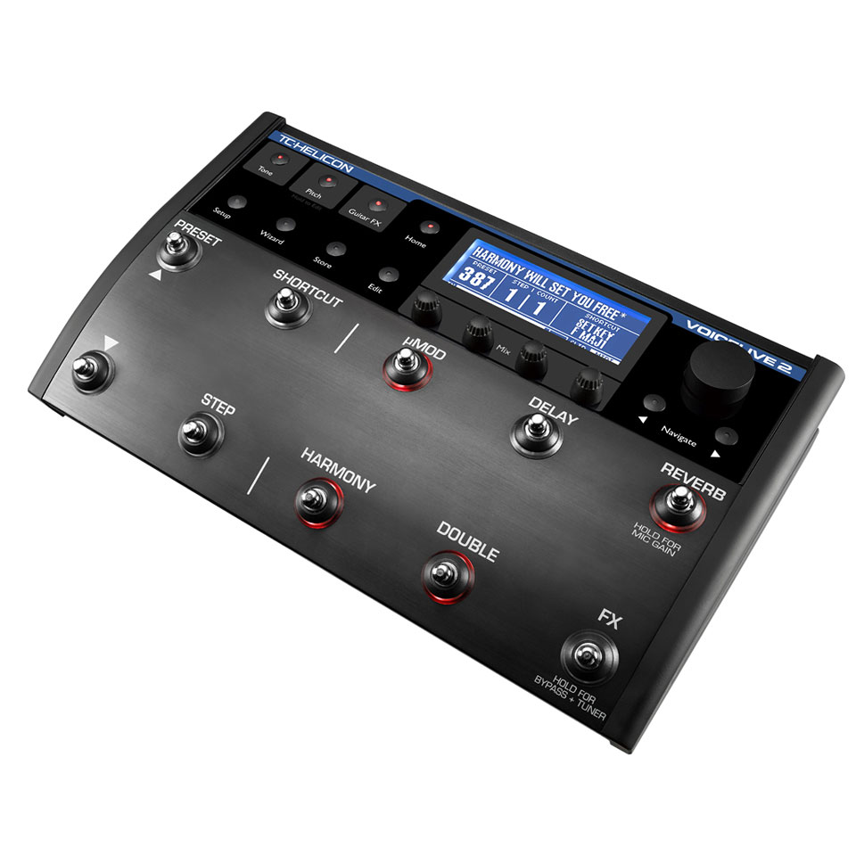 TC-Helicon VoiceLive 2 « Multi-Effects