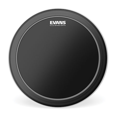 "Parches para bombos Evans EMAD Onyx 22"" Bass Drum Head"