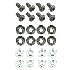 "Adam Hall 19"" Parts 5924 M8 AH « Accessori rack"