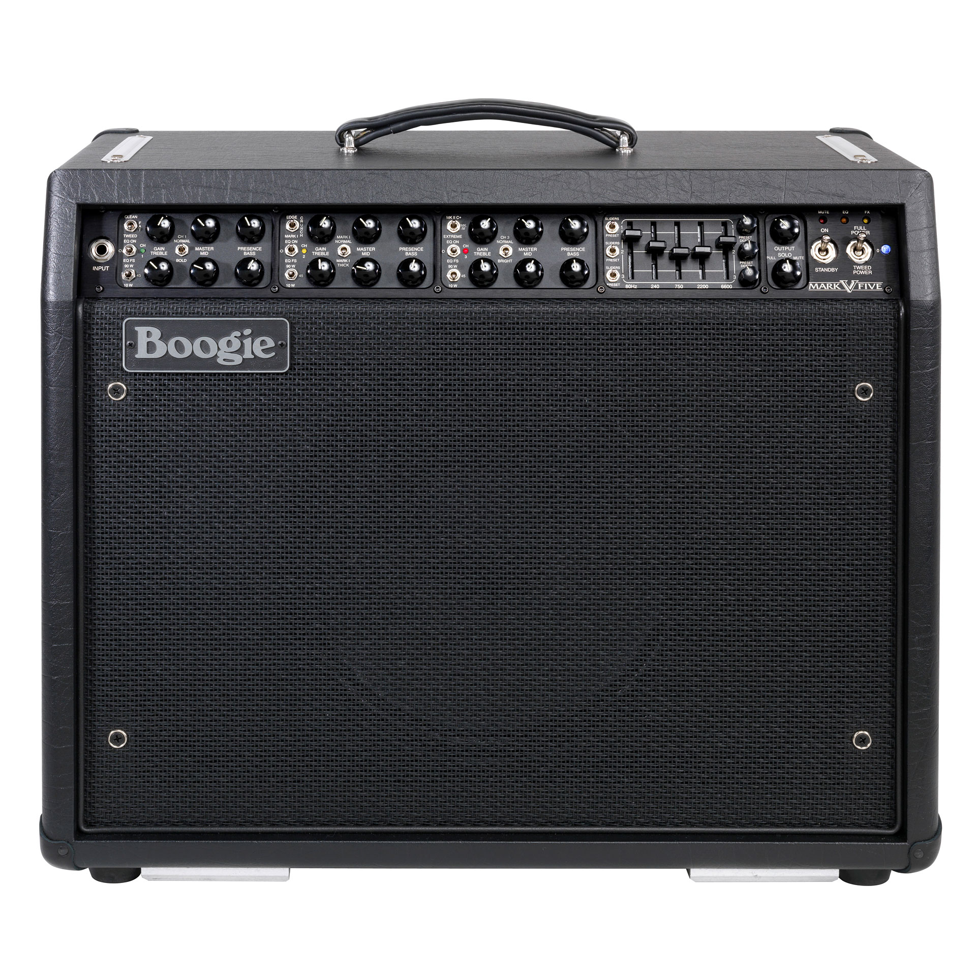 Mesa boogie mark v amplificador guitarra el ctrica for Amplificadores mesa boogie