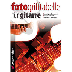 Voggenreiter Fotogrifftabelle für Gitarre « Libros didácticos