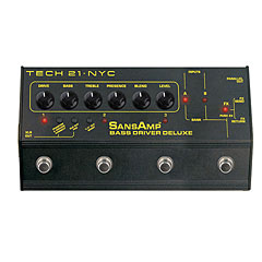 Tech 21 SansAmp BassDriver D.I. Deluxe « Bass Guitar Effect
