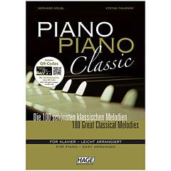 Hage Piano Piano Classic « Libro de partituras