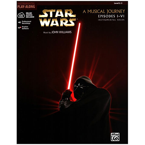 Play-Along Alfred KDM Star Wars - A Musical Journey Episode I-VI