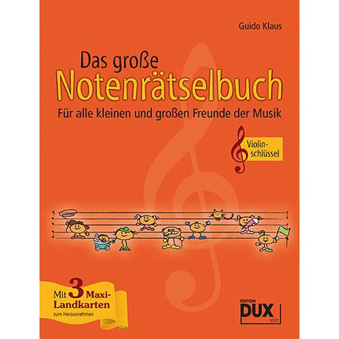 Dux Das große Notenrätselbuch Violinschlüssel