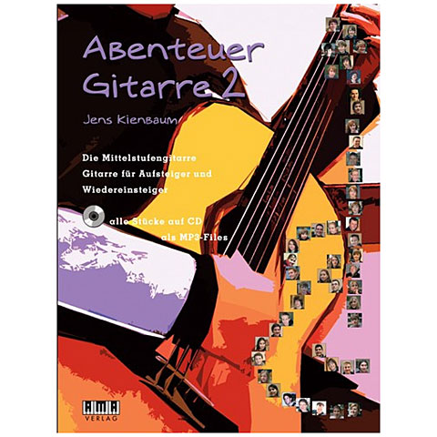 Lehrbuch AMA Abenteuer Gitarre 2