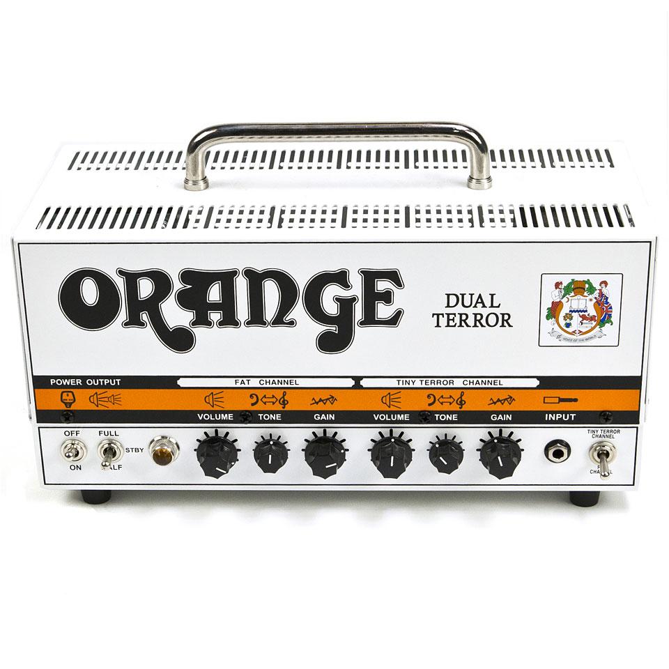 Verstaerker - Orange Dual Terror Head Topteil E Gitarre - Onlineshop Musik Produktiv