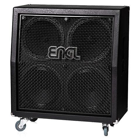 Pantalla guitarra eléctrica Engl E412VSB Pro Vintage Black 30 schräg