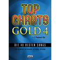 Sångbok Hage Top Charts Gold 4