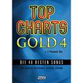 Βιβλίο τραγουδιών Hage Top Charts Gold 4