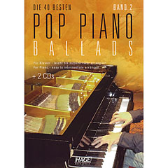 Hage Pop Piano Ballads 2 « Recueil de Partitions