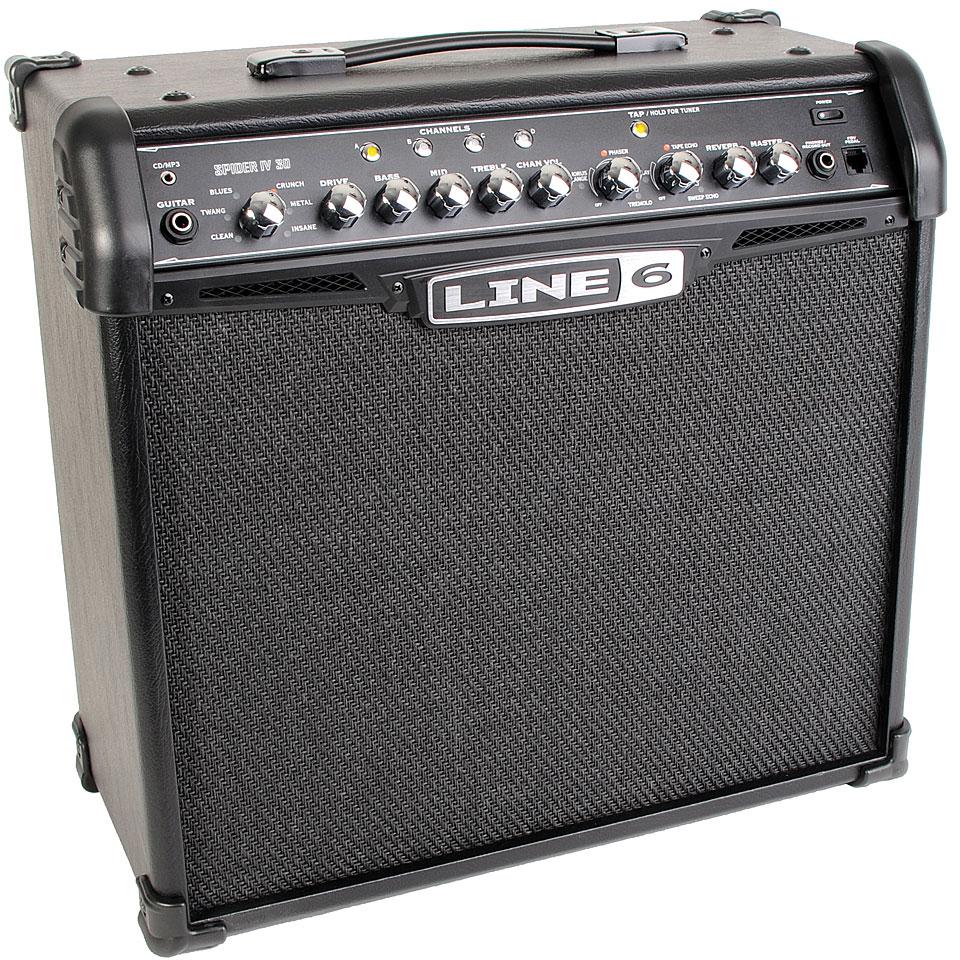 Line 6 Spider IV 30 « Guitar Amp