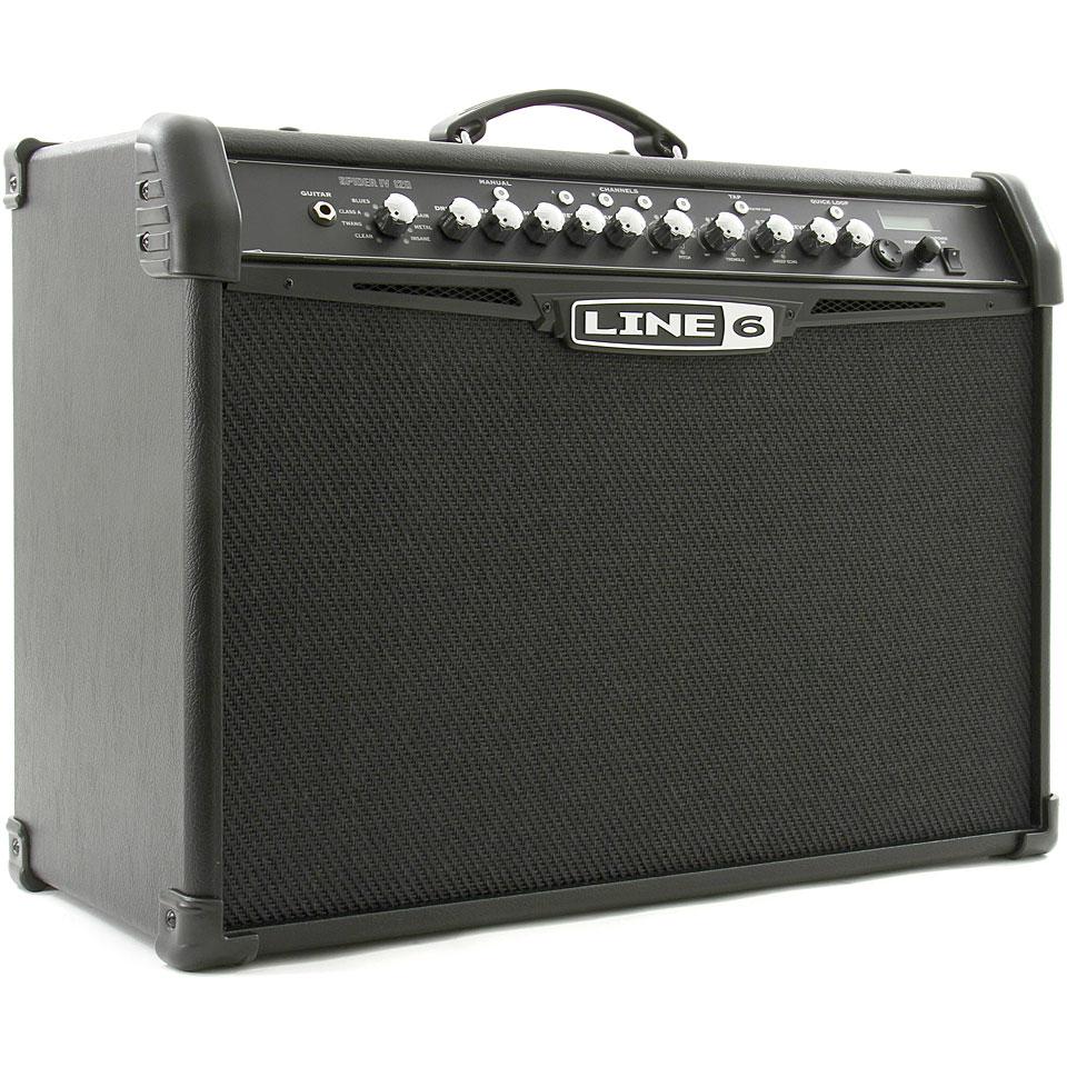 line 6 spider iv 120 guitar amp. Black Bedroom Furniture Sets. Home Design Ideas