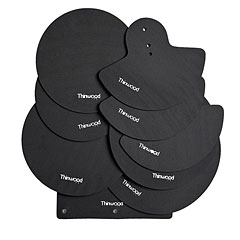 Thinwood Drum Damper Pads Standard Set « Oefenpad