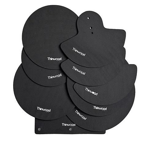 Thinwood Drum Damper Pads Fusion Set