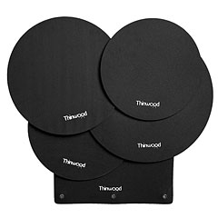 Thinwood Drum Damper Pads Fusion Set Basic « Övningspad