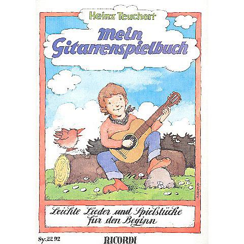 Libro de partituras Ricordi Mein Gitarrenspielbuch - Leichte  Lieder und Spielstücke für den Beginn