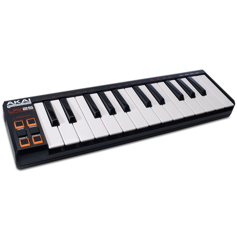 akai lpk25 master keyboard. Black Bedroom Furniture Sets. Home Design Ideas