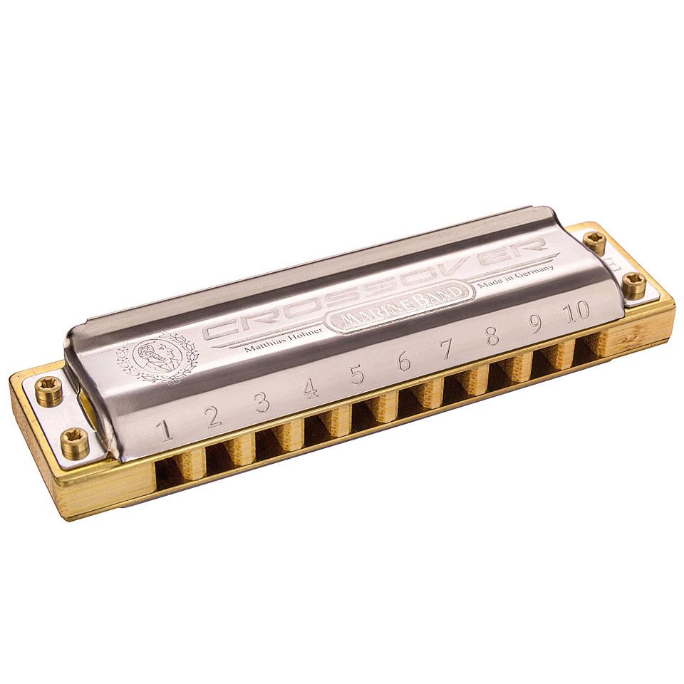 hohner marine band crossover d richter harmonica. Black Bedroom Furniture Sets. Home Design Ideas