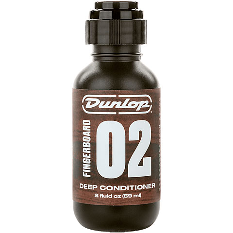 Limpieza guitarra/bajo Dunlop Fingerboard 02 Deep Conditioner 59 ml
