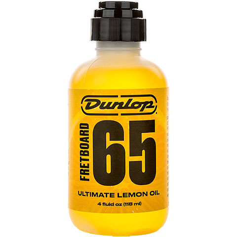 Entretien guitare/basse Dunlop Fretboard 65 Ultimate Lemon Oil 118 ml