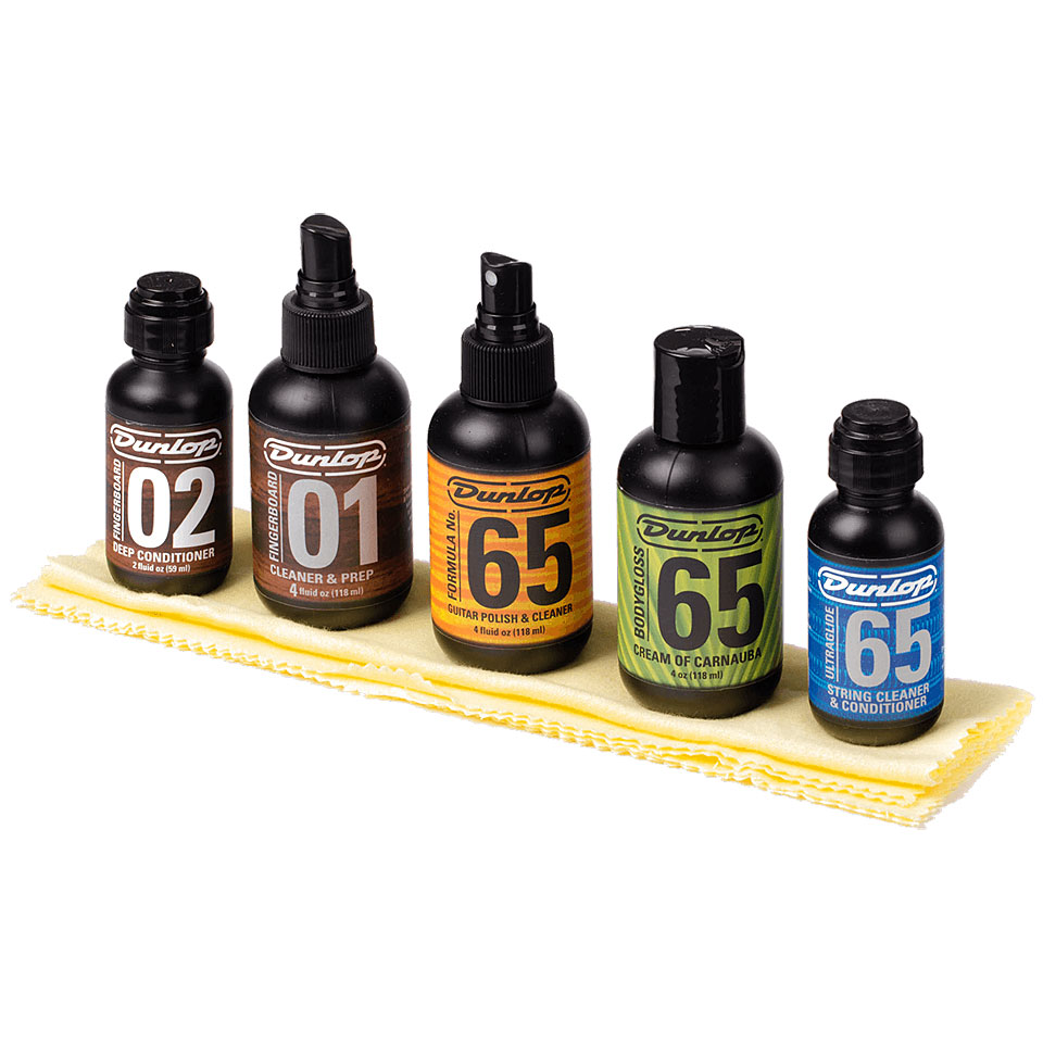 Dunlop System 65 Guitar Maintenance Kit Guitar Bass Cleaning And Care