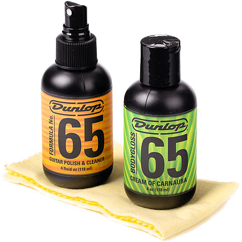 Pflegemittel Gitarre/Bass Dunlop System 65 Guitar Polish Kit