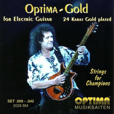 Saiten E-Gitarre Optima Brian May, 009-042
