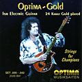 Struny do gitary elektrycznej Optima Brian May, 009-042