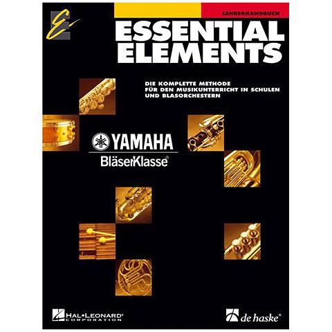 Lehrbuch De Haske Essential Elements Band 1 und 2 (Lehrerhandbuch)