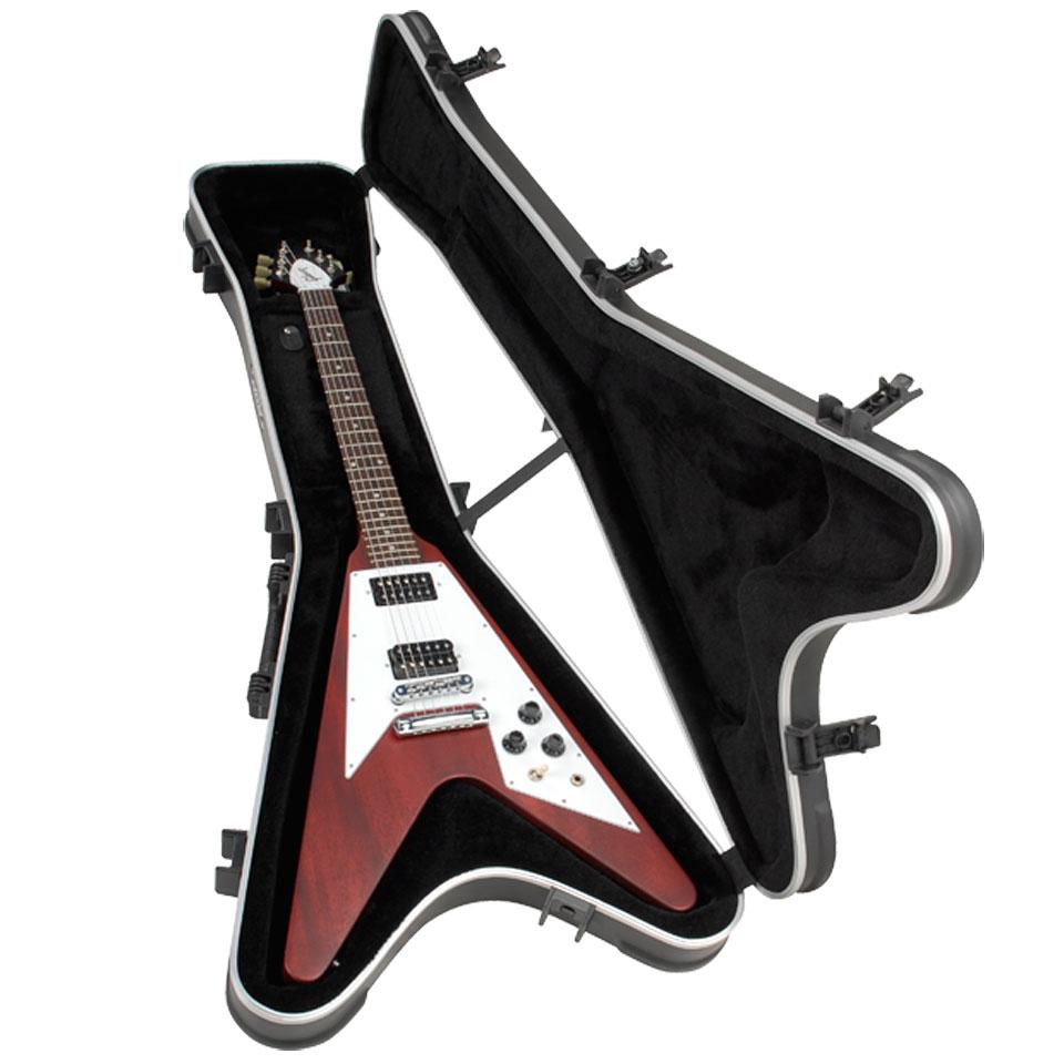 skb 58 gibson flying v hardshell case electric guitar case. Black Bedroom Furniture Sets. Home Design Ideas