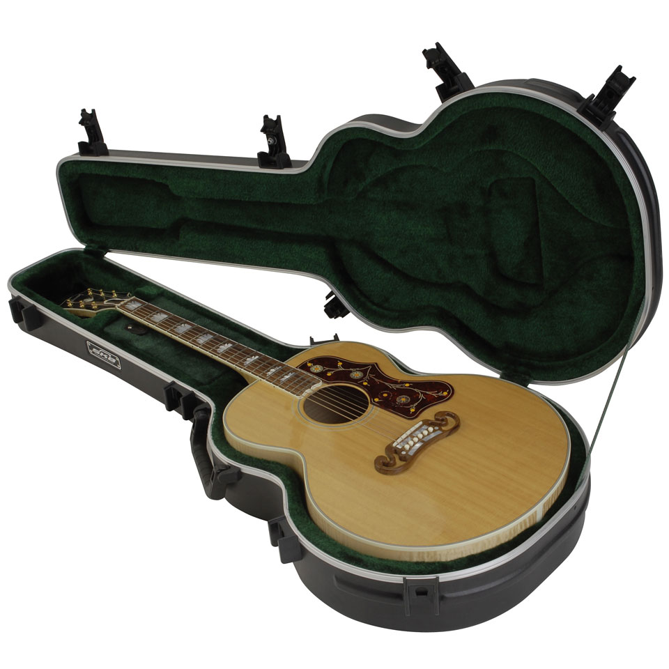 Universal Guitar Case : skb 20 universal jumbo acoustic deluxe guitar case acoustic guitar case ~ Vivirlamusica.com Haus und Dekorationen