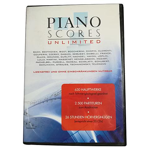 Notación MakeMusic PianoScores Unlimited