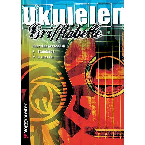 Manuel pédagogique Voggenreiter Ukulelen-Grifftabelle