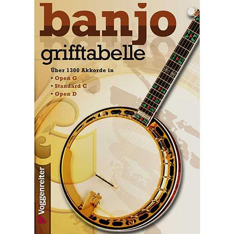 Voggenreiter Banjo Grifftabelle