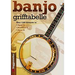 Voggenreiter Banjo-Grifftabelle « Libros didácticos