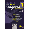 Libro di spartiti Dux Acoustic Pop Guitar Songbook 1