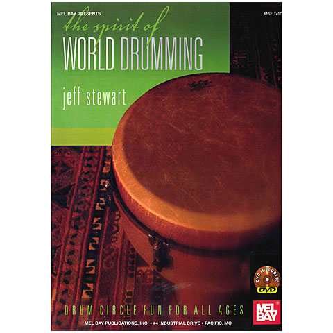 Lehrbuch MelBay The Spirit Of World Drumming