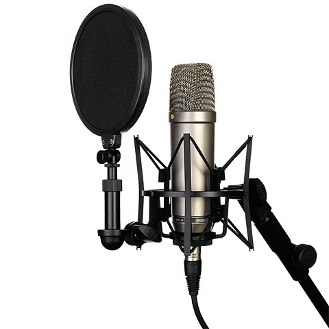 Microphone Rode NT1-A Complete Vocal Recording Solution