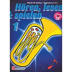 De Haske Hören,Lesen&Spielen Bd. 1 für Baritonhorn/Euphonium in C « Lehrbuch