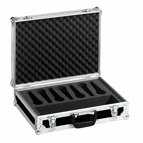 Mikrofonzubehör Roadinger Microphone Case Road 7 Microphones black