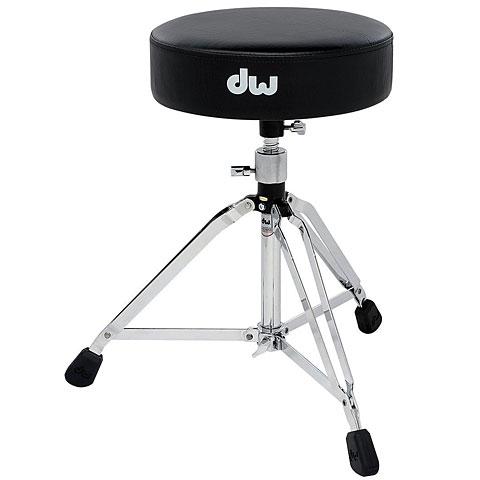 Sillín de batería DW DWCP5100 Drummer Throne with Oversized Nut
