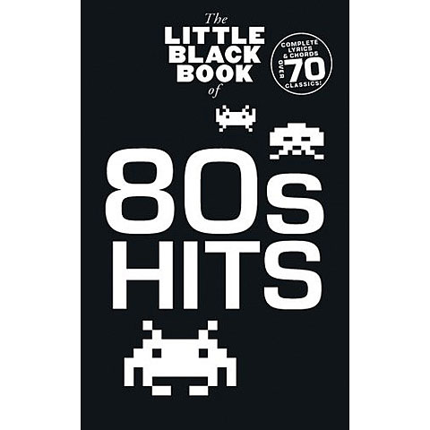 Music Sales The Little Black Songbook of 80's Hits