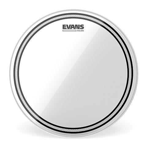 "Tom Drumhead Evans Edge Control EC2S Clear 12"" Tom Head"
