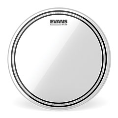 "Evans Edge Control EC2S Clear 14"" Tom Head « Peau de tom"