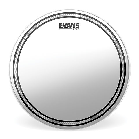 Evans Edge Control Ec2s Coated B10ec2s Tom Drumhead